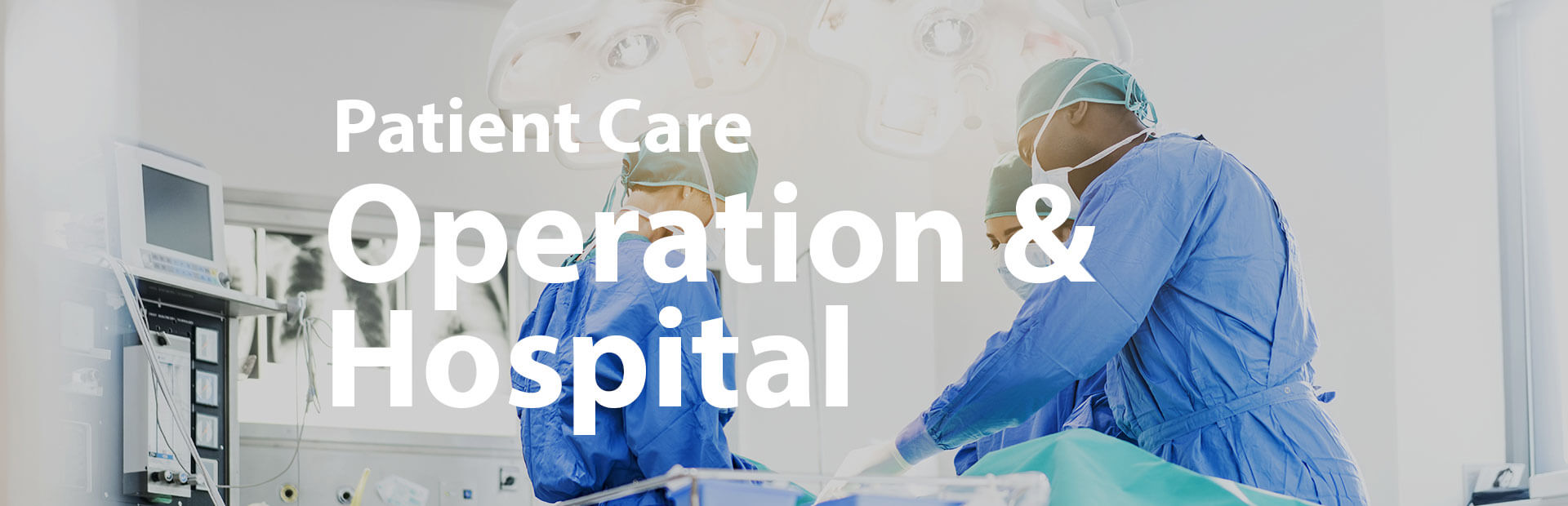 Oxygen production for hospitals and operating theatres